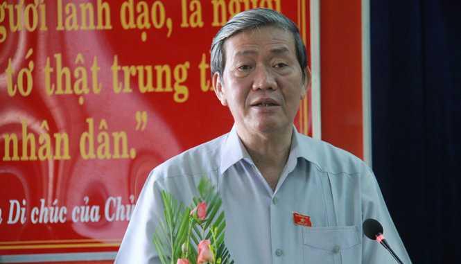 Ong Dinh The Huynh: 'Dang xem xet ky luat thi Trinh Xuan Thanh tron bay qua chau Au' hinh anh 1