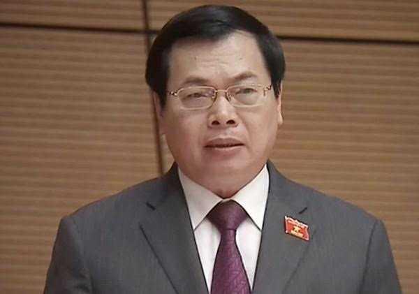 Vi sao nguyen Bo truong Vu Huy Hoang da nghi huu van bi cach chuc? hinh anh 1