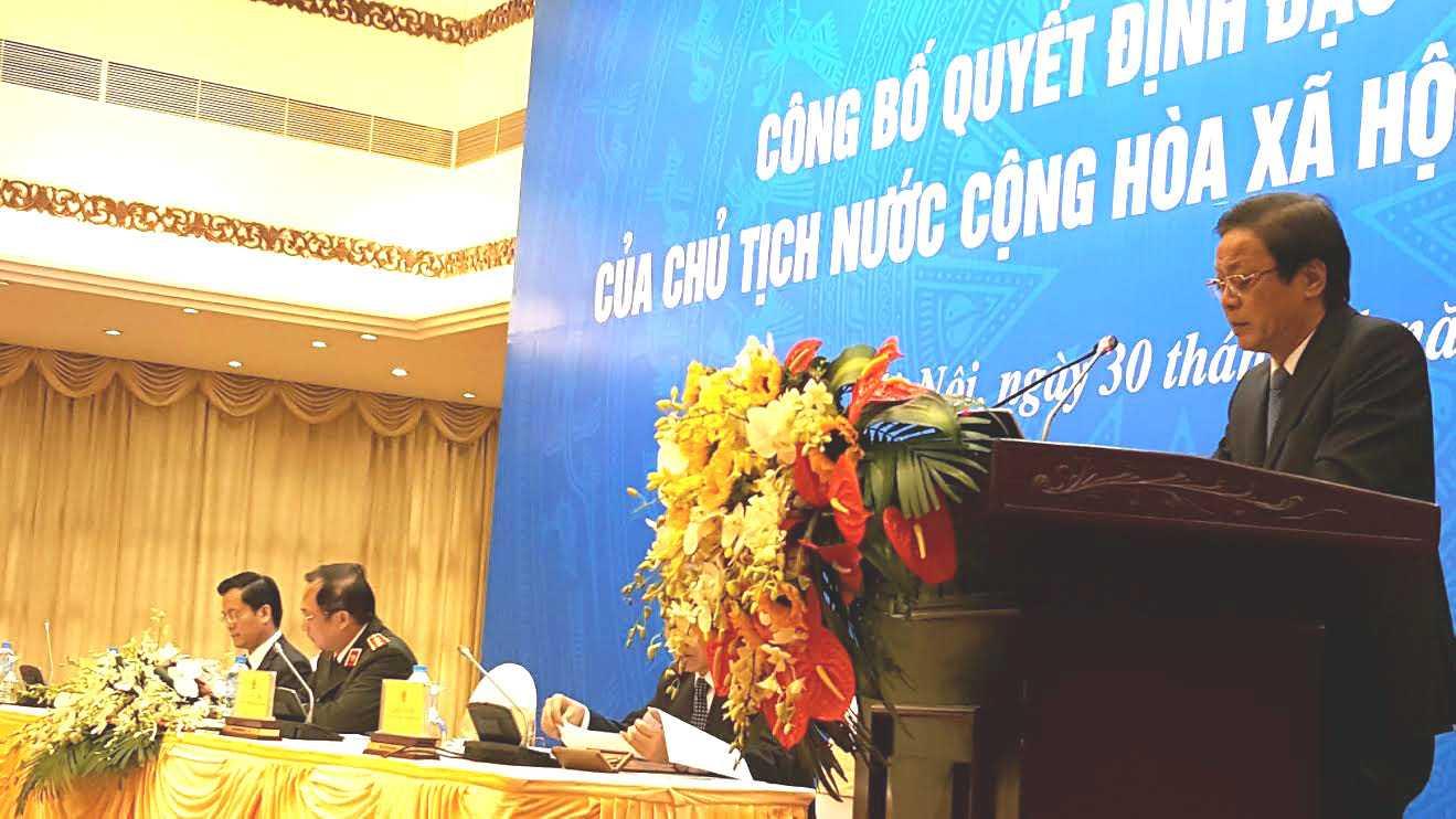 Cụu Tong giam doc PMU 18 Bùi Tién Dũng bi loai khoi danh sach dạc xá hinh anh 1