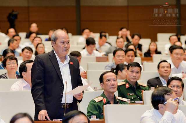 Nhung phat ngon an tuong cua Dai bieu Quoc hoi Ngo Van Minh hinh anh 1