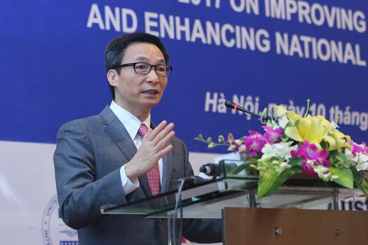 Pho Thu tuong Vu Duc Dam: 'Rao can lon nhat la tu duy cuc bo, loi ich ca nhan' hinh anh 1