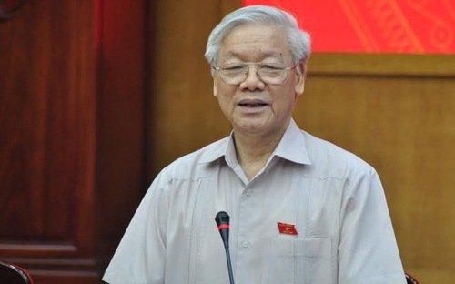 Tong Bi thu: 'Ong Dinh La Thang cung mieng noi tay lam, quyet liet lam chu' hinh anh 1