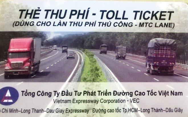 Bat dau thu phi bang the dien tu tren cao toc TP.HCM - Dau Giay hinh anh 2