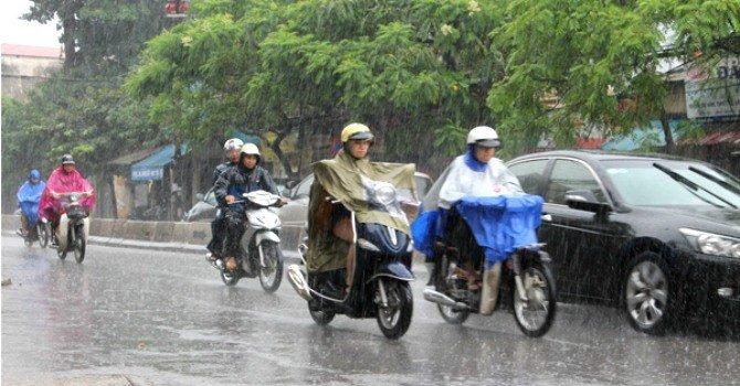 Thoi tiet hom nay 26/5: Tay Nguyen va Nam Bo mua to, de phong to loc, mua da hinh anh 1