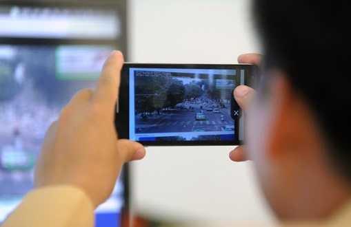 Ha Noi se cap smartphone cho canh sat giao thong hinh anh 1