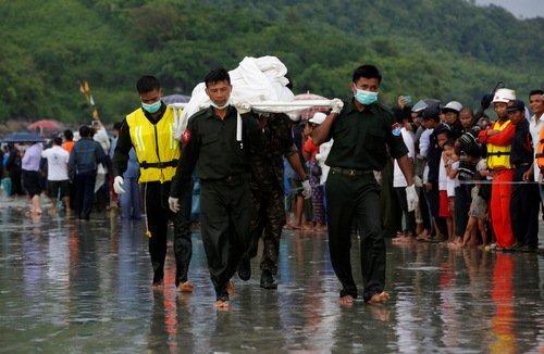 Roi may bay quan su Myanmar: Tim thay 29 thi the nan nhan hinh anh 1