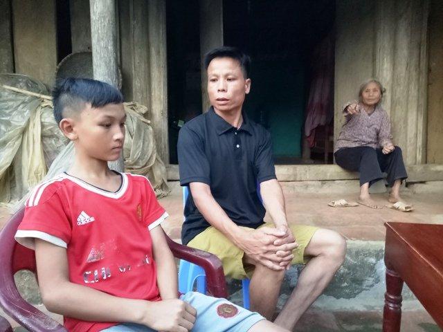 Be trai 13 tuoi bi ho vo o Thanh Hoa: Loi ke ron nguoi tu nhan chung hinh anh 1