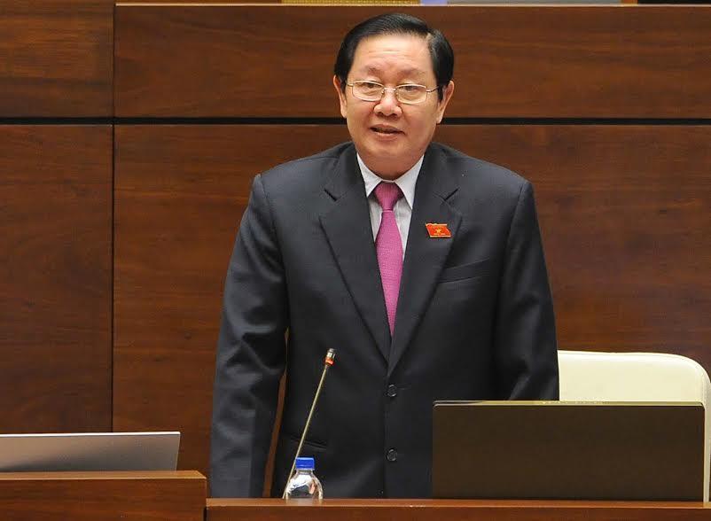 Bo truong Le Vinh Tan: Thi tuyen lanh dao mo cho ca nguoi ngoai quy hoach hinh anh 1