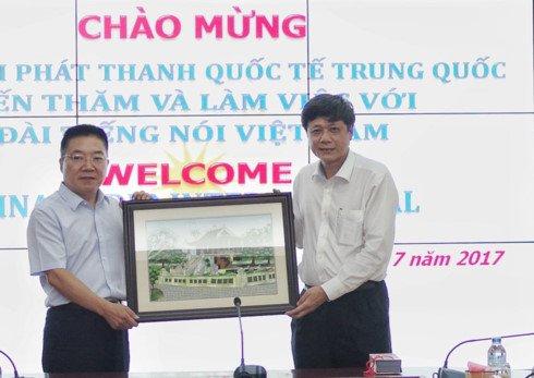 Dai Tieng noi Viet Nam hop tac voi Dai Phat thanh Quoc te Trung Quoc hinh anh 4