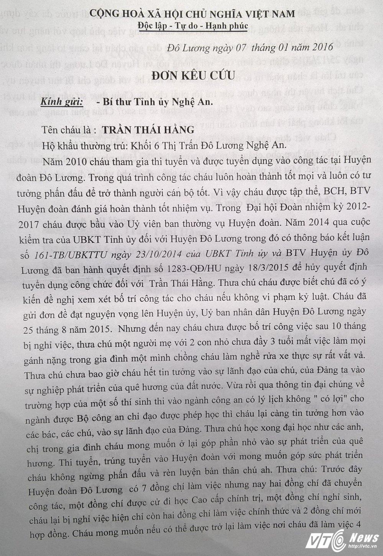 Nu can bo doan bi duoi viec oan: 'Toi muon lay lai danh du chu khong can mot cong viec bo thi' hinh anh 3