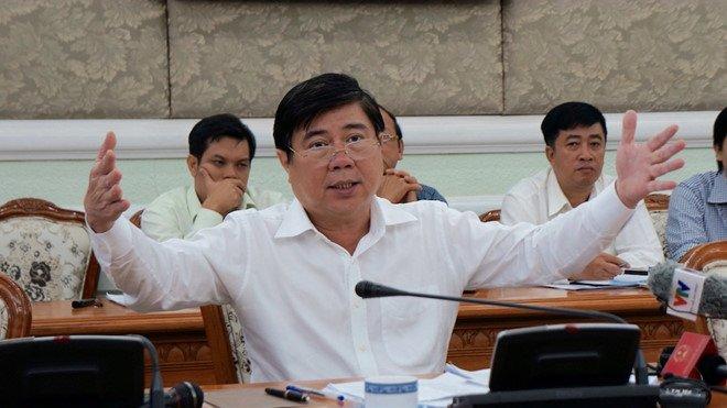 Chu tich TP.HCM: 'Ba con nong dan chan lam tay bun, khong phai ai cung ranh luat' hinh anh 1