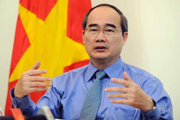 Bi thu Nguyen Thien Nhan: 'Nghi quyet chinh sach dac thu cho TP.HCM la mot quyet sach quoc gia dot pha' hinh anh 1