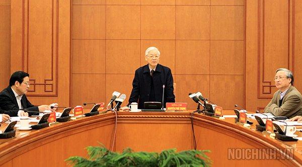 Tong Bi thu: 'Khan truong dua vu an Trinh Xuan Thanh ra xet xu' hinh anh 1