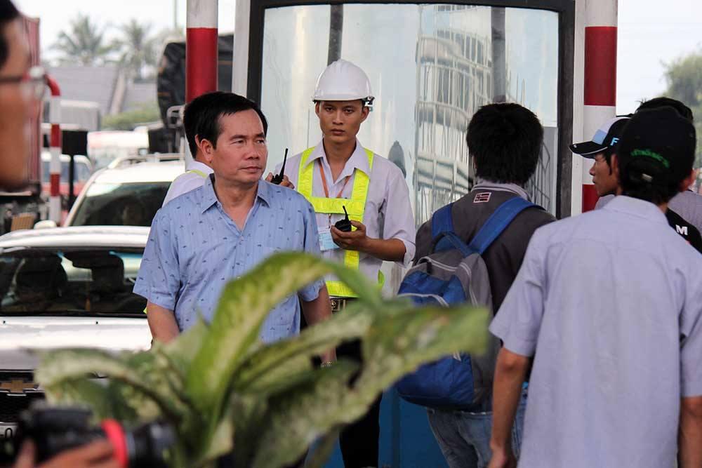 Tong cuc truong Tong cuc Duong bo thi sat tram BOT Cai Lay hinh anh 1