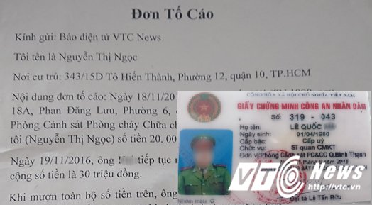 Chien si lam gia the nganh muon tien roi tron no: Canh sat PCCC TP.HCM noi gi? hinh anh 1