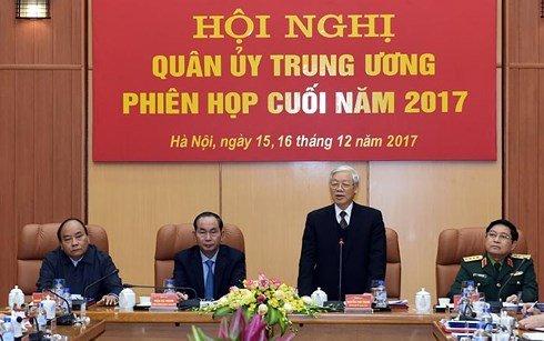 Tong Bi thu: 'Quan doi phai lam guong cho cac noi khac' hinh anh 1