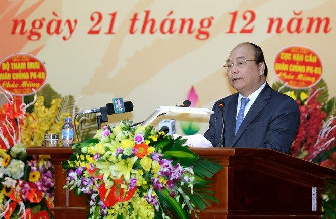 Thu tuong giao 5 nhiem vu cho Quan chung Phong khong - Khong quan hinh anh 1