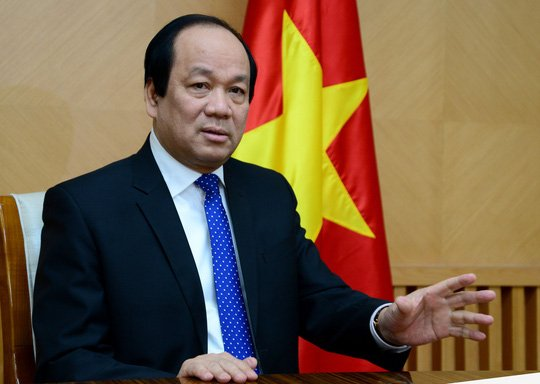 Bo truong Mai Tien Dung: 'Qua Tet khong xau, loi dung qua Tet moi la tieu cuc' hinh anh 1