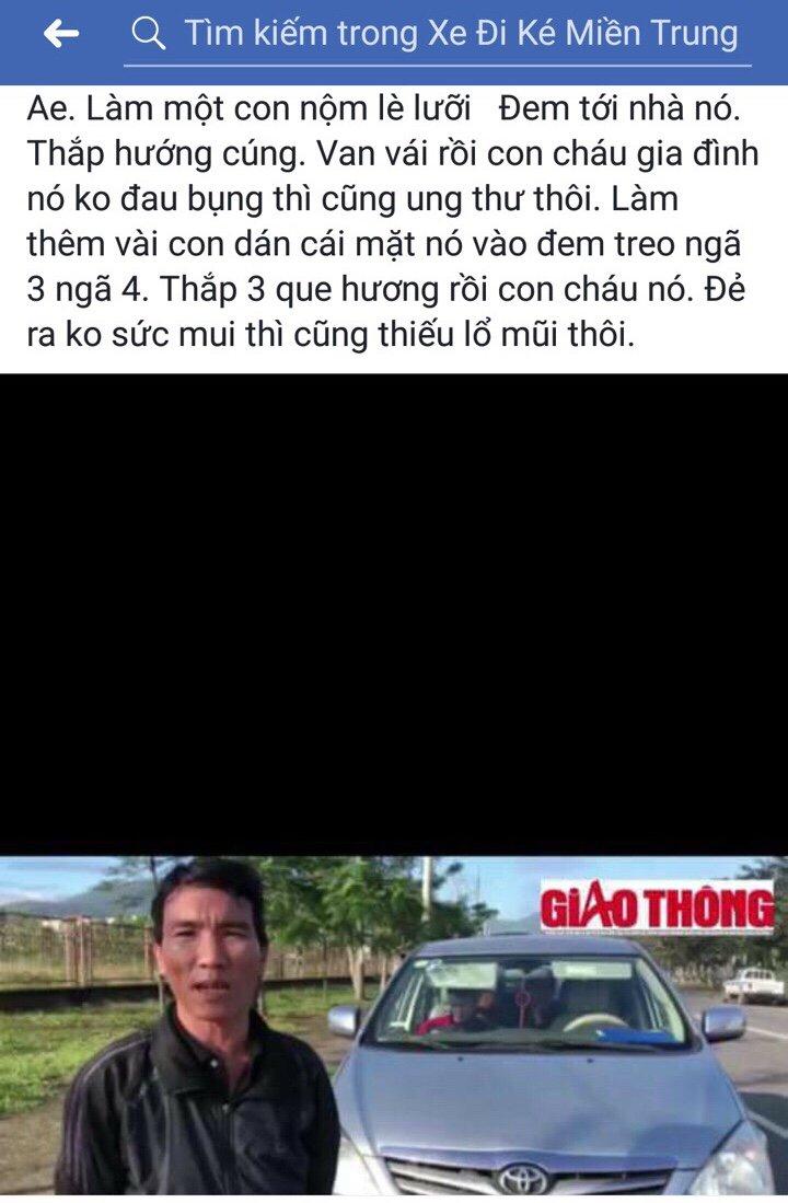 Xe 7 cho 'cho khach chui' tuyen Hue - Da Nang: Hang loat khach bi doa giet hinh anh 2