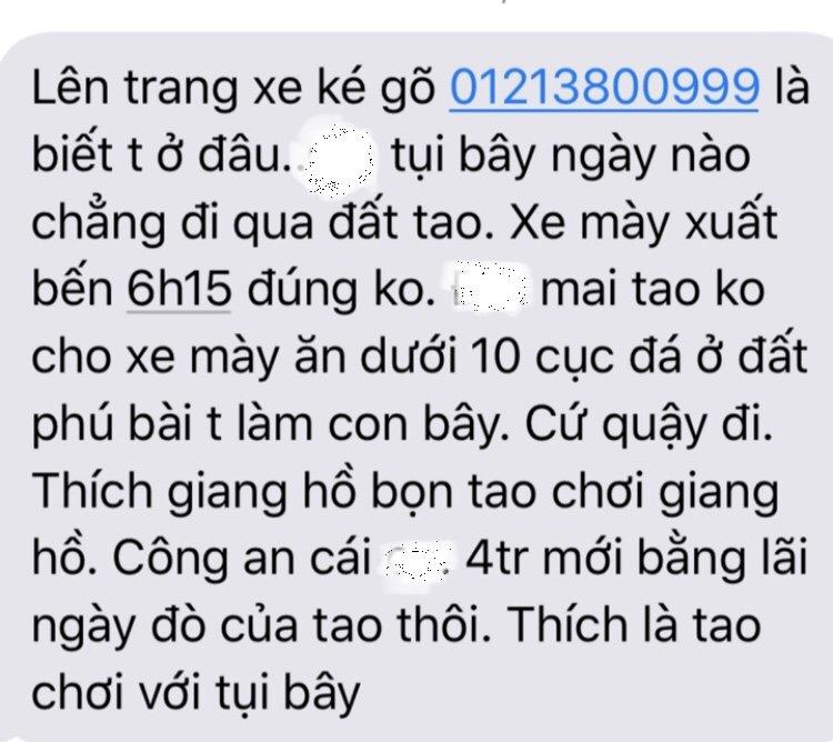 Xe 7 cho 'cho khach chui' tuyen Hue - Da Nang: Hang loat khach bi doa giet hinh anh 4