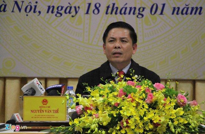 Bo truong Nguyen Van The: 'Toi khong tu tui o BOT Cai Lay' hinh anh 1