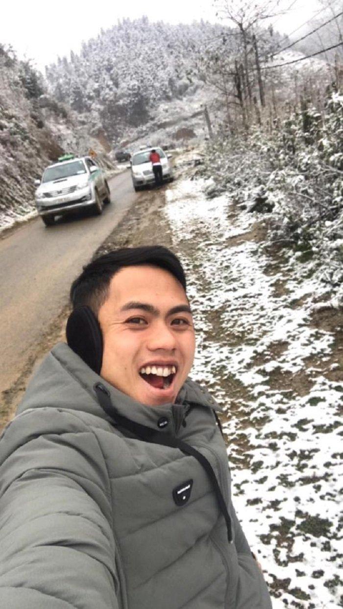 Troi ret -2°C, Thac Bac phu trang bang tuyet hinh anh 5