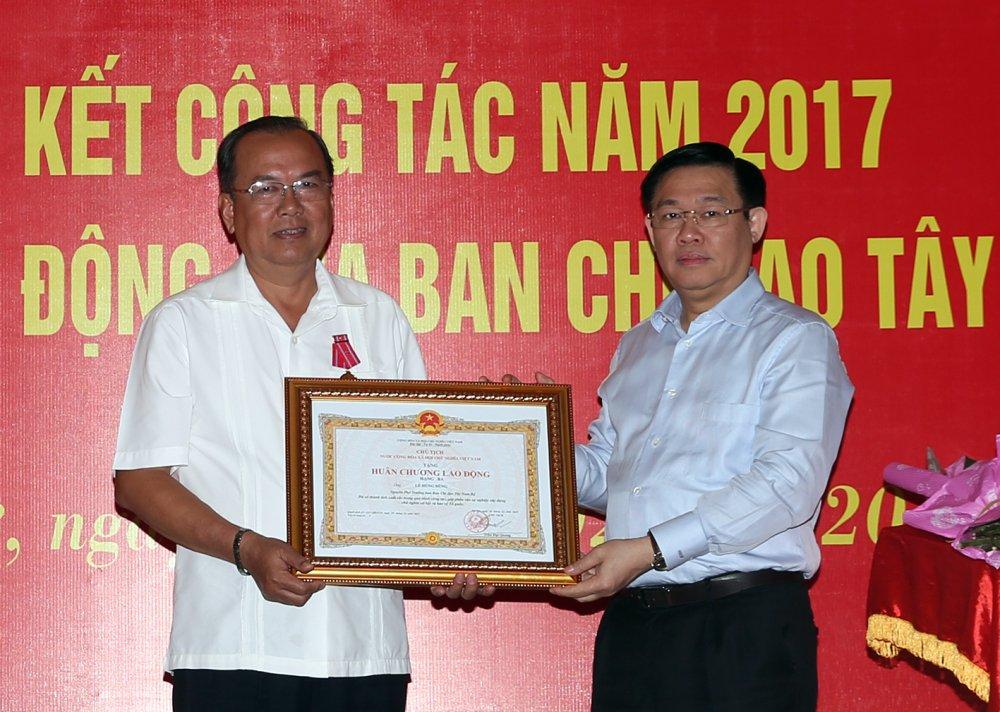Ban chi dao Tay Nam Bo dung hoat dong hinh anh 2