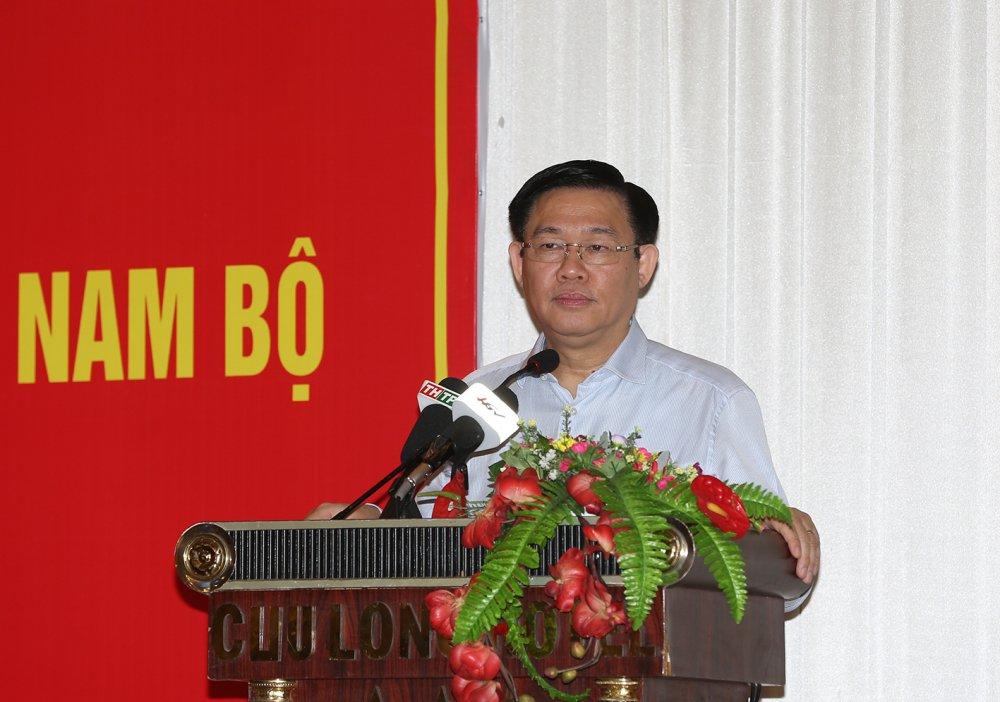 Ban chi dao Tay Nam Bo dung hoat dong hinh anh 1