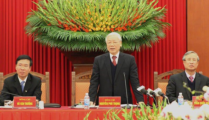 Tong Bi thu: 'Vu Oceanbank sau Tet xu, khong de khong khi Xuan nang ne' hinh anh 3