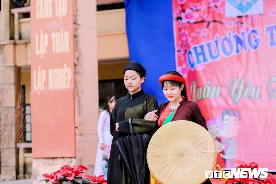 Mot ngay trai nghiem khong khi Tet xua cua hoc sinh Bac Ninh hinh anh 6