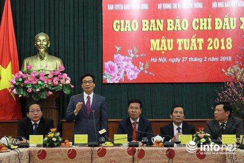 Pho Thu tuong Vu Duc Dam: 'Bao chi khoi day niem tin trong xa hoi' hinh anh 1
