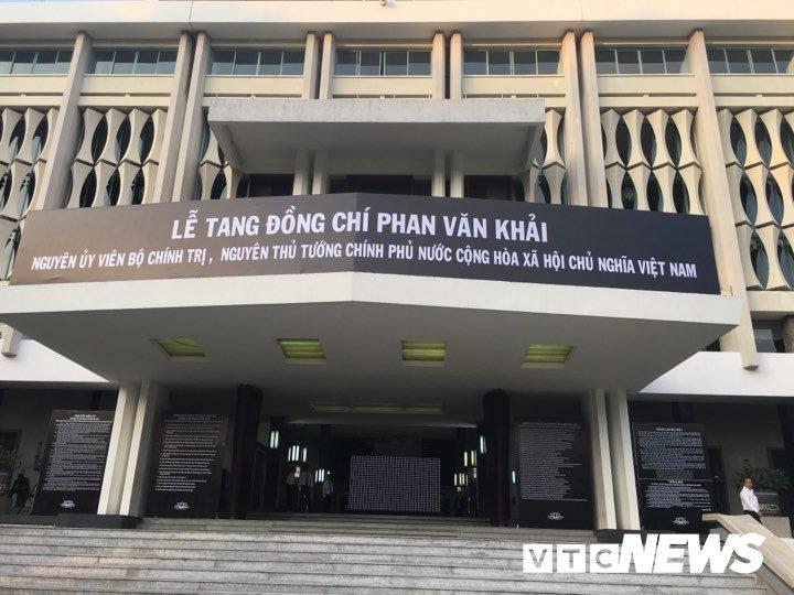 Anh: Cac doan lanh dao Dang, Nha nuoc vieng nguyen Thu tuong Phan Van Khai hinh anh 13