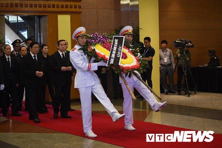 Anh: Cac doan lanh dao Dang, Nha nuoc vieng nguyen Thu tuong Phan Van Khai hinh anh 6