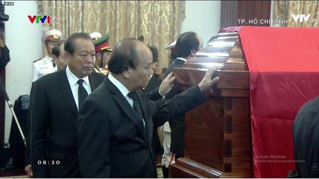 Nhung hinh anh dau tien trong le tang nguyen Thu tuong Phan Van Khai hinh anh 5