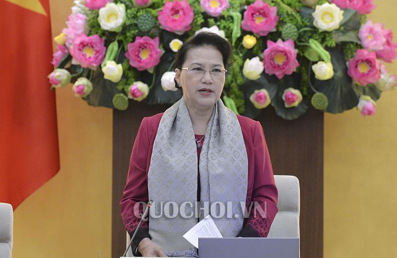 Thuong vu Quoc hoi chua ban Luat Cong an nhan dan hinh anh 1