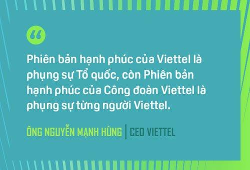 CEO Nguyen Manh Hung: 3 nguyen tac xay dung Viettel hanh phuc hinh anh 3