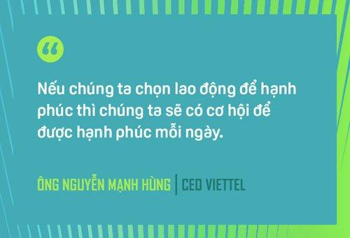 CEO Nguyen Manh Hung: 3 nguyen tac xay dung Viettel hanh phuc hinh anh 2