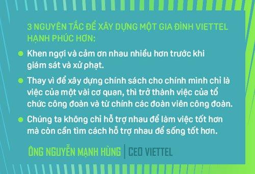 CEO Nguyen Manh Hung: 3 nguyen tac xay dung Viettel hanh phuc hinh anh 4