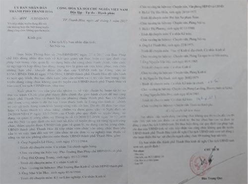 TP Thanh Hoa 'xe rao' xet hang loat cong chuc hinh anh 2