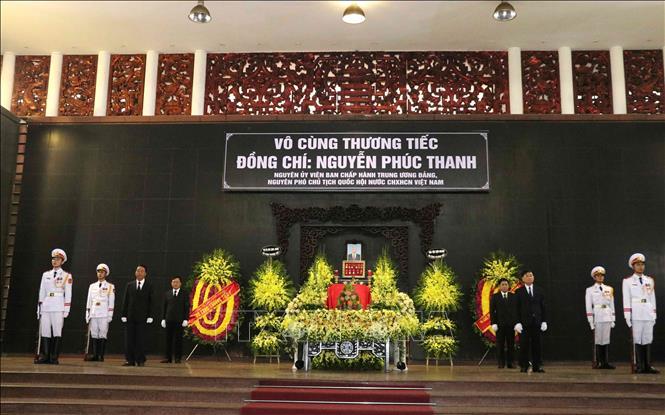 Tong Bi thu, Chu tich nuoc cung nhieu lanh dao Nha nuoc vieng nguyen Pho Chu tich Quoc hoi Nguyen Phuc Thanh hinh anh 1