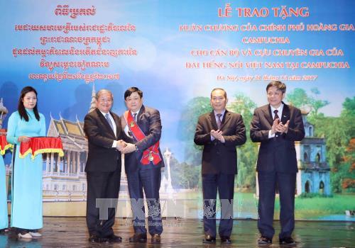 Viet Nam - Campuchia ky ket hop tac ve phat thanh hinh anh 2