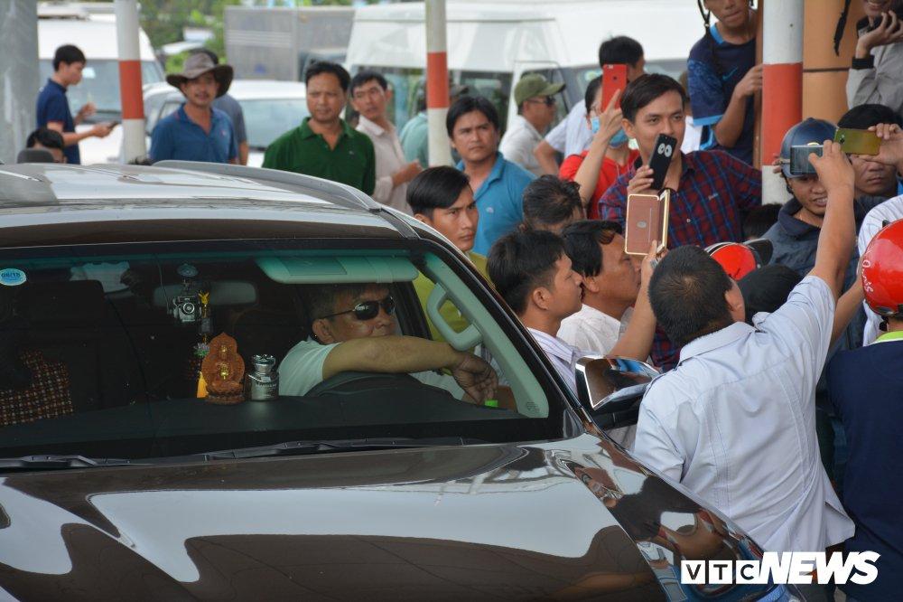 BOT Soc Trang soan san van ban tra loi, tai xe gian du phan ung hinh anh 2