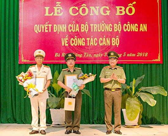 Ba Ria - Vung Tau co giam doc cong an moi hinh anh 1
