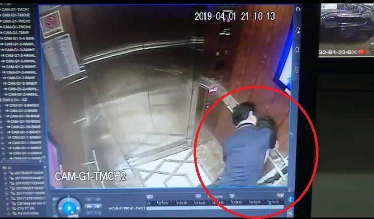 Đã xác định danh tính 'kẻ biến thái' ôm hôn, sờ mó bé gái trong thang máy
