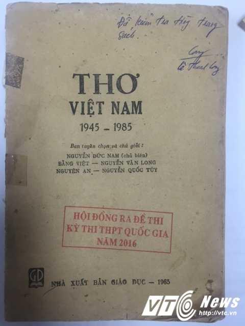 Tranh cai de thi Ngu van, Bo GD-DT phan hoi: Trich dan tho Luu Quang Vu khong sai hinh anh 2