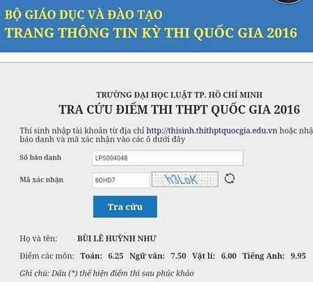 Diem thi THPT quoc gia 2016: Hon 1.500 thi sinh bat ngo thay doi diem tieng Anh hinh anh 2