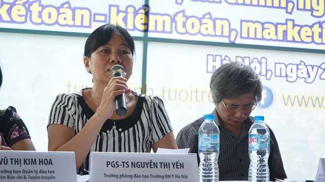 Diem chuan Dai hoc Y Ha Noi nam 2016 the nao? hinh anh 1