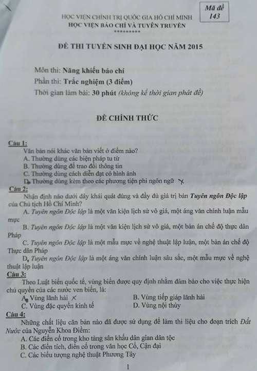 De thi nang khieu vao Hoc vien Bao chi Tuyen truyen nam 2016 the nao? hinh anh 4
