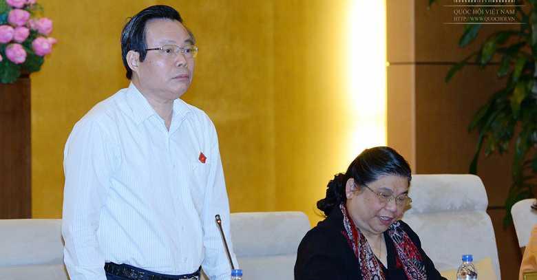 Pho Chu tich Quoc hoi lien tuc truy van Thu truong Bo KH&DT: 'Luat khong co dieu nao la hy vong' hinh anh 1