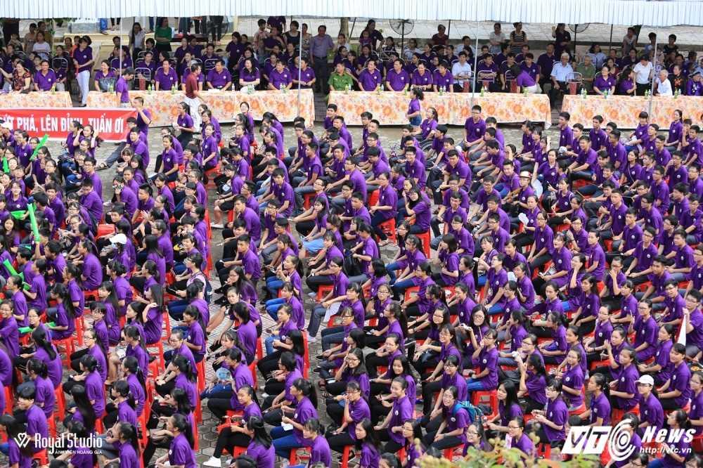 Ngoi truong cua A quan Duong len dinh Olympia 2016 'nhuom' sac tim hinh anh 8